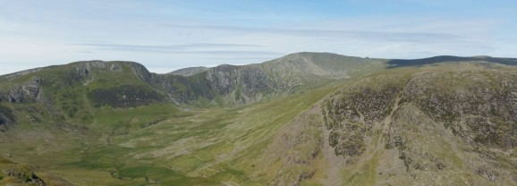 A High Mountain Walk in the Carneddau